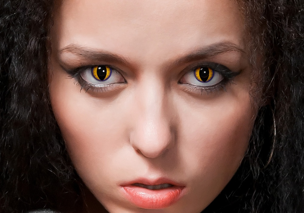 yellow eyes contacts - photo #19