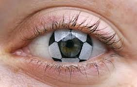soccerball contact lenses