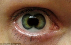 creepy green contact lenses